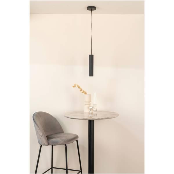 Paris pendel lampe (sort)