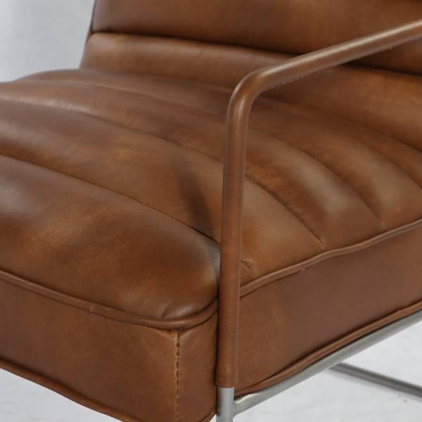 Mercer lenestol skinn (Cognac brown)
